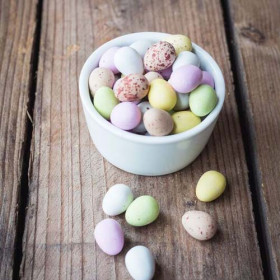 Milk Chocolate Mini-Eggs ~3Kg