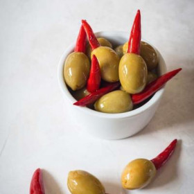 Piri Piri Stuffed ~Olives 2.9Kg