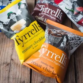 Tyrrells Crisps ~Box 24 x 40g