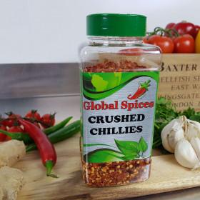 Chillies Crushed ~300g Jar