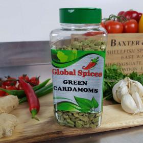Cardamoms Green Whole ~350g Jar